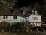 Binz ZH - Drei Verletzte bei Brand