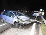 Goldach SG - Auffahrunfall mit drei beteiligten Autos