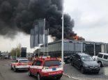 Kreuzlingen TG - Neubau in Brand geraten