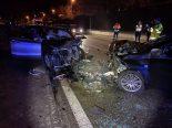 Döttingen AG - Horror-Unfall fordert drei Verletzte