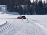 Unfall Davos Platz GR - Lenker (18) ohne Führerschein bleibt auf Langlaufloipe stecken