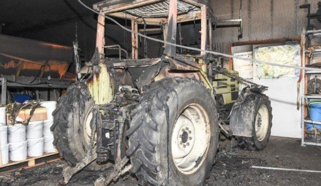 Wängi TG - 100'000 Franken Sachschaden bei Brand in Werkhofgebäude