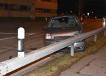 Unfall Rapperswil-Jona SG - Fahrunfähig gegen Leitplanke geprallt