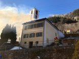 Sta. Domenica GR - Zweifamilienhaus von Feuer vollständig zerstört