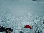 Wiler/Lauchernalp VS - Skifahrer durch Lawinenabgang schwer verletzt