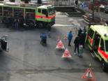 Uster ZH - Besuchergruppe der Insieme bei Polizei und Feuerwehr