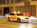 St.Gallen SG - Autofahrer flüchtet vor Polizeikontrolle
