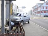 Unfall Herisau AR - 24-jährige Autolenkerin erleidet epileptischen Anfall