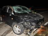 A1, Rorschacherberg SG - Fahrunfähiger Lenker (29) und Beifahrer (26) nach Selbstunfall verletzt