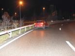 St.Gallen SG - Fahrunfähig auf A1 verunfallt