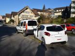 Herisau AR - Auffahrunfall zwischen zwei Autos