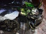 Unfall in Teufen mit Appenzeller Bahn