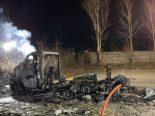 Brand Aeugstertal ZH - Wohnmobil vollständig zerstört
