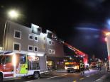 Chur GR - Mann bei Wohnungsbrand verletzt