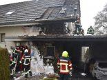 Ermensee LU - Brand in Carport eines Einfamilienhauses