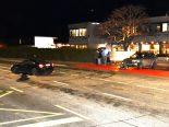 Chur GR - Zweimal Totalschaden nach heftigem Crash