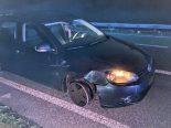 Suhr AG - Alkoholisierter Lenker auf Felgen fahrend auf der A1 gestoppt