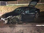 Unfall Schaffhausen SH - Lenker (19) verliert Kontrolle