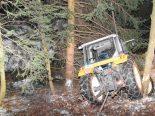 Flumserberg SG - Alkoholisierter Jugendlicher (17) entwendet Traktor und verunfallt
