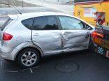 Luzern LU - Unfall nach Überholmanöver