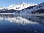Engadin GR - Gefährliche Situation auf den Seen: ein Schwerverletzter