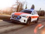 Kantonspolizei Zürich testet vollelektrisches Verkehrspolizei-Patrouillenfahrzeug