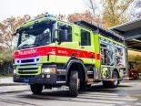 Basel - Brand in der Sekundarschule Bäumlihof