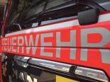 Aargau AG - 15 Feuerwehren an 30 Schadenplätzen wegen Sturm im Einsatz