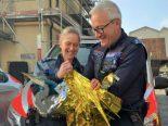Beromünster LU - Polizei rettet Fischreiher