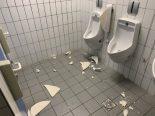 Schaffhausen - Vandalen verwüsten Munot WC-Anlage