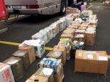 Zürich - Reisecar mit zwei Tonnen Schmuggelware aufgeflogen
