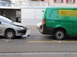 St.Gallen SG - Auffahrkollision verursacht Stau