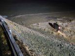 Oberhelfenschwil SG - Auto bei Unfall mehrfach überschlagen