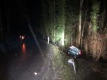Unfall Ecublens FR - Alkoholisierter Lenker (27) prallt gegen Baum