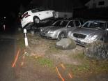 Oberrindal SG - Fahrunfähiger Lenker (21) verursacht Selbstunfall