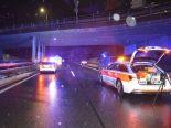 Chur GR - Von Brücke auf A13 gestürzt und von Auto erfasst