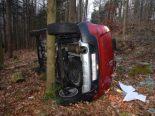 Hägendorf SO - Auto bei Unfall überschlagen