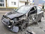 Dagmersellen LU - Heftiger Unfall zwischen drei Fahrzeugen
