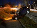 Unfall Liestal BL - Lenkerin landet in Personenunterführung