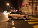 St.Gallen - Verkehrsunfall auf der Rosenbergstrasse