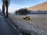 Unfall Turtmann VS - Autofahrer gegen Baum geprallt und verstorben