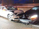 A2, Pratteln BL - Unfall mit drei Fahrzeugen
