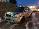 St.Gallen - Bei Verkehrsunfall in Kandelaber gekracht
