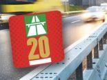 Kanton St.Gallen - Autobahnvignette nicht vergessen
