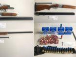 Biel-Benken BL - Ehepaar mit zehn Waffen angehalten
