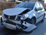 Heftiger Unfall Wattwil SG - Vier Verletzte