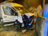 Wildegg AG - Irrfahrt endete in heftigem Unfall