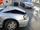 Schwanden GL - Verkehrsunfall mit Sachschadenfolge