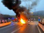 Heftiger Selbstunfall in Küttigen AG - Mann (27) verletzt