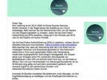Neue Betrugswelle: E-Mail zu einer angeblichen Paketsendung erhalten?